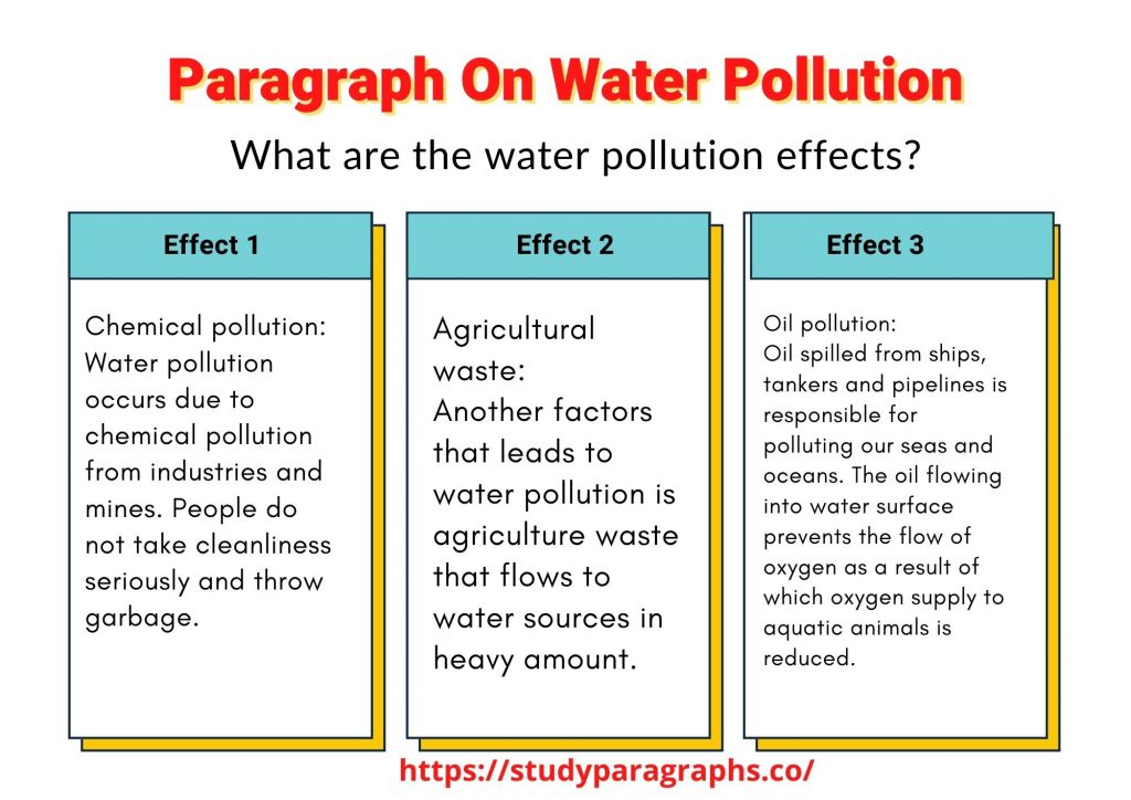 Paragraph about pollution
