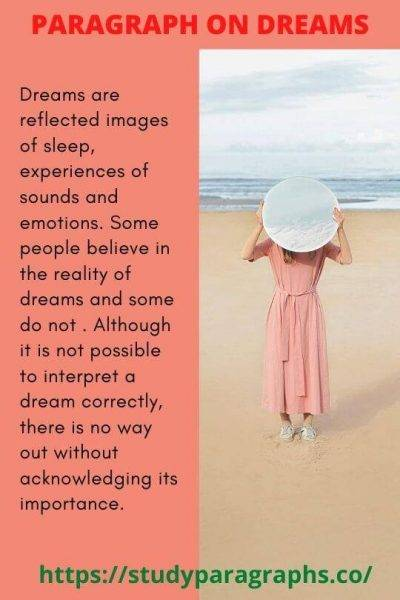 Dream Paragraph